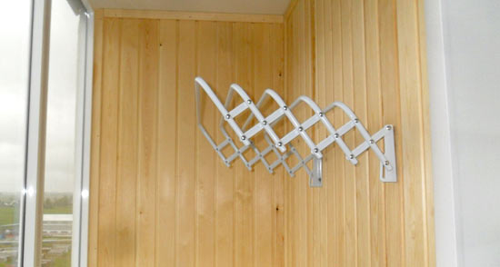Сушилка балконная раздвижная