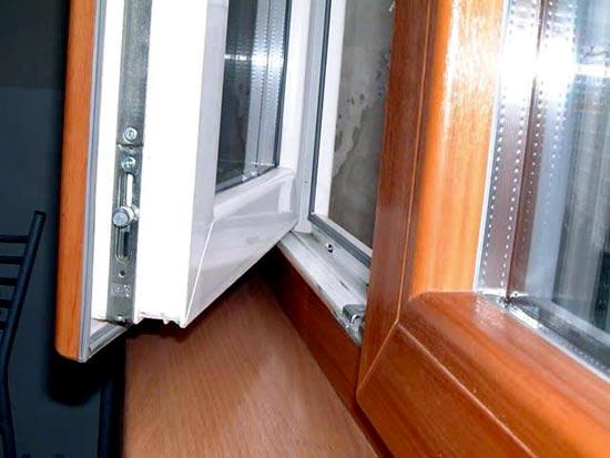 Регулировка ПВХ окна