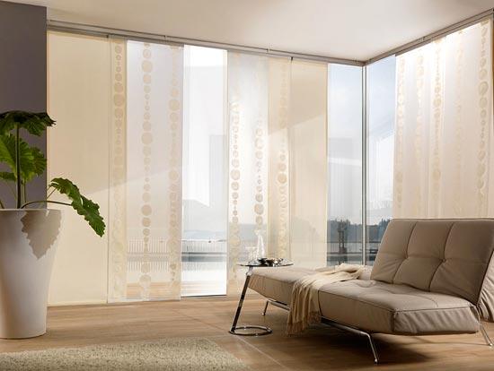 Дизайн японских штор