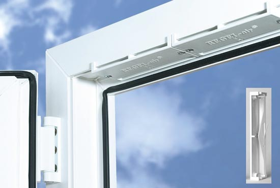 Клапан на окно многофункциональный