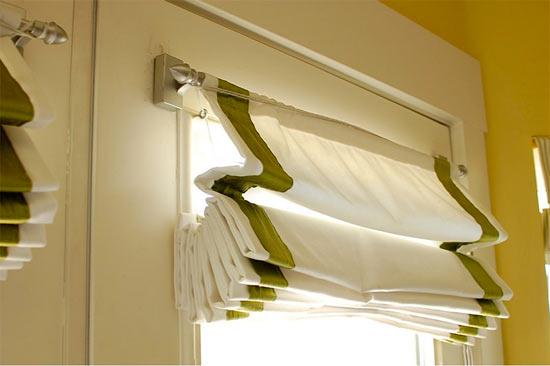 Римские шторы складки