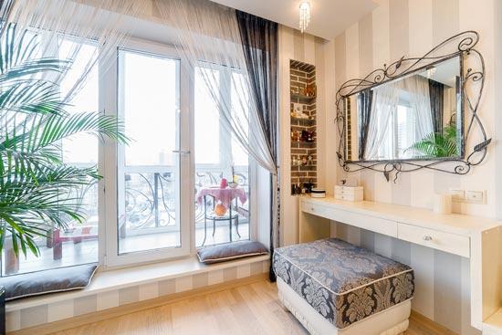 Французское окно для картиры