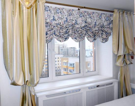 Венские классические шторы