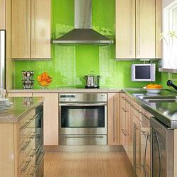 Зеленая кухня: 99 лучшх фото интерьеров и советы по сочетанию с другими цветами
