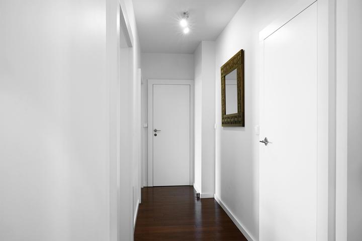 цвет в дизайне коридора