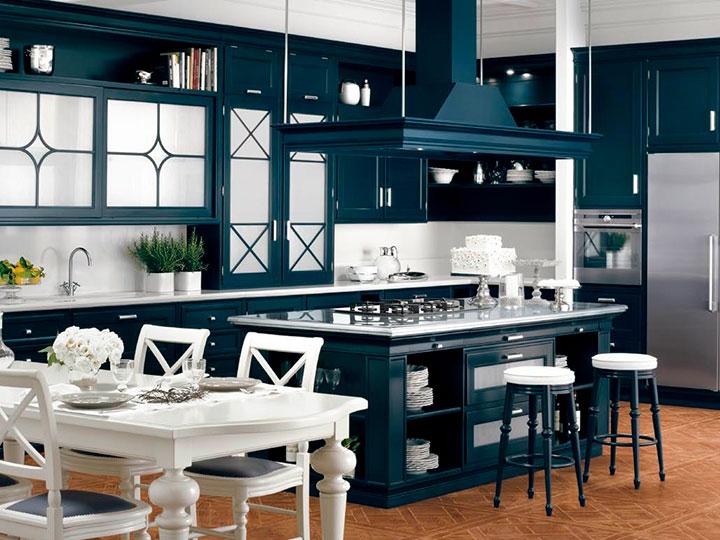 мебель для кухни в американском стиле