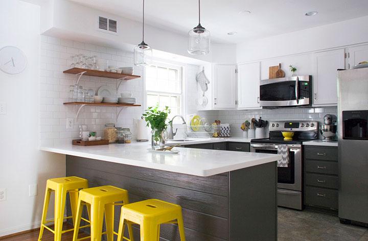 современный дизайн кухни