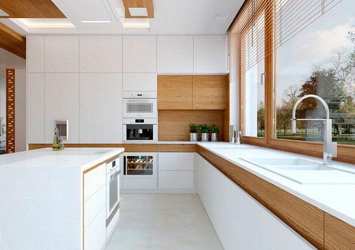 как сделать современный дизайн кухни
