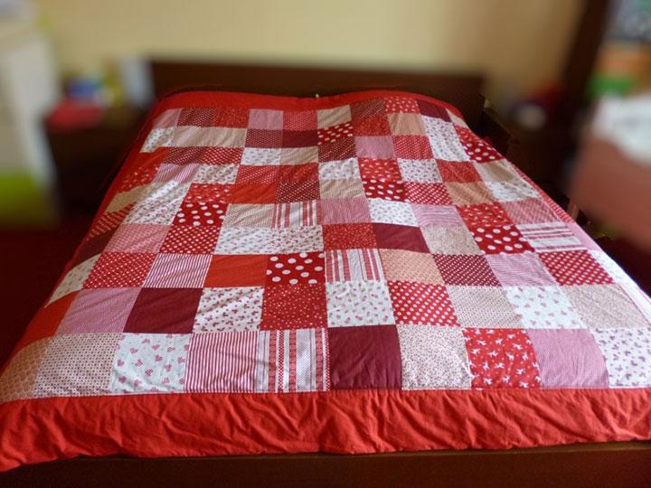 loskutnoe-odeyalo-svoimi-rukami-2 Как сшить лоскутное одеяло своими руками пошаговая инструкция