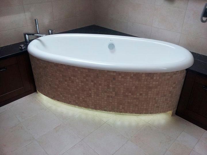 виды ванных