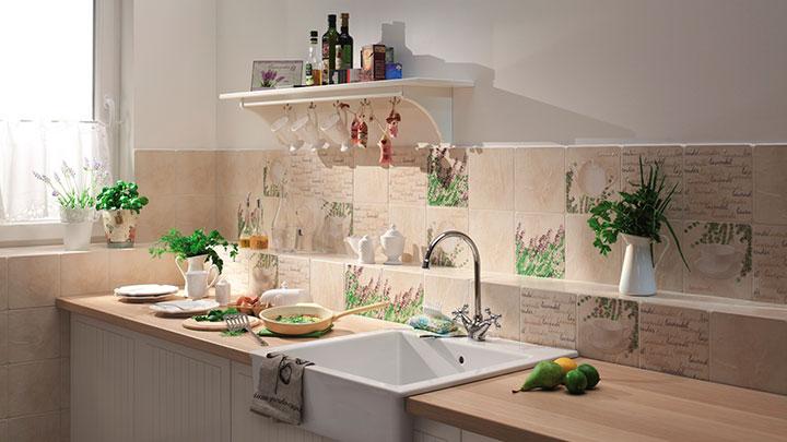 плитка для стен кухни