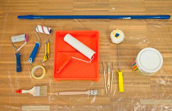 материалы для окрашивания стен