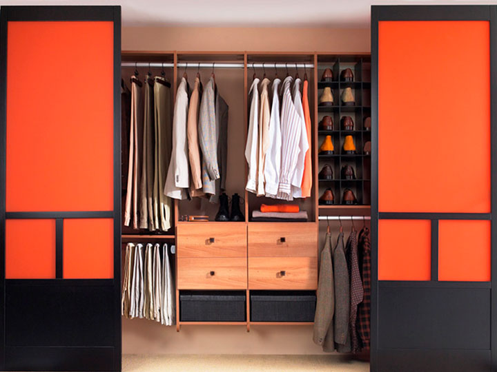 двери для гардеробной комнаты