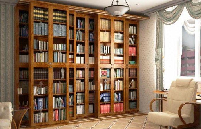 Книжный шкаф для дома