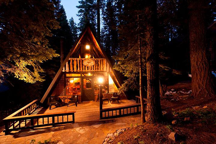 летний домик для отдыха шалаш