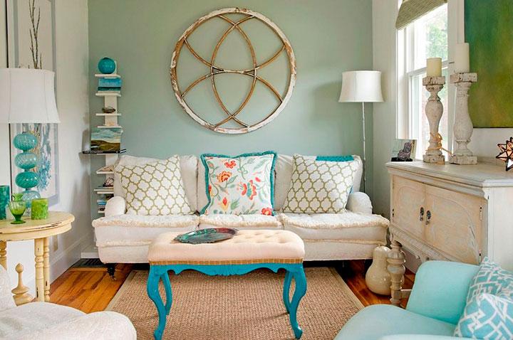 мебель для винтажной гостиной