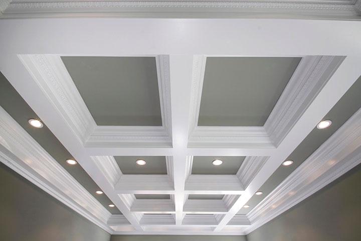 что такое кессонный потолок