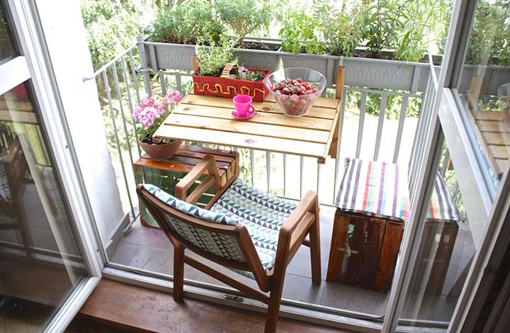 столик раскладной для лоджии