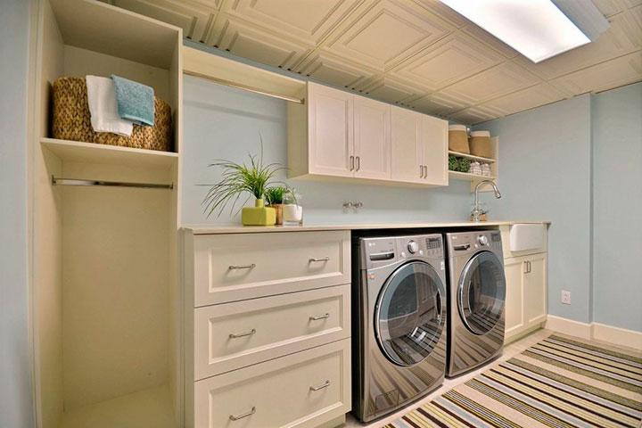 установка стиральной машины в подвале дома