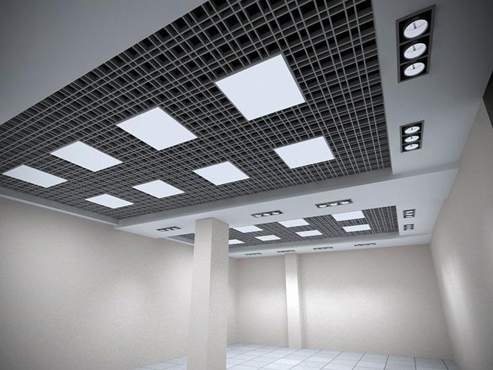 дизайн потолка грильято