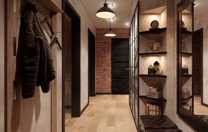 стиль лофт в квартире