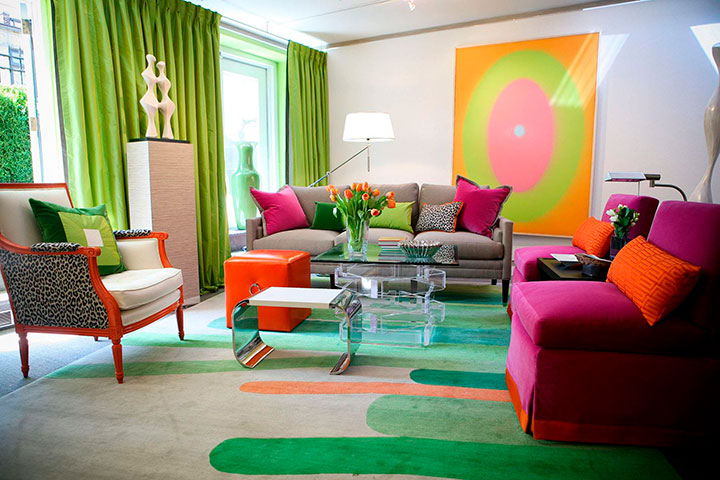 цветовое решение для гостиной