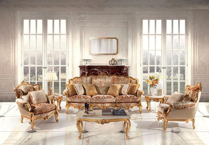мягкая мебель рококо