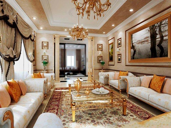 комнаты рококо