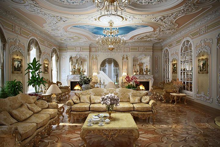 большой дом рококо