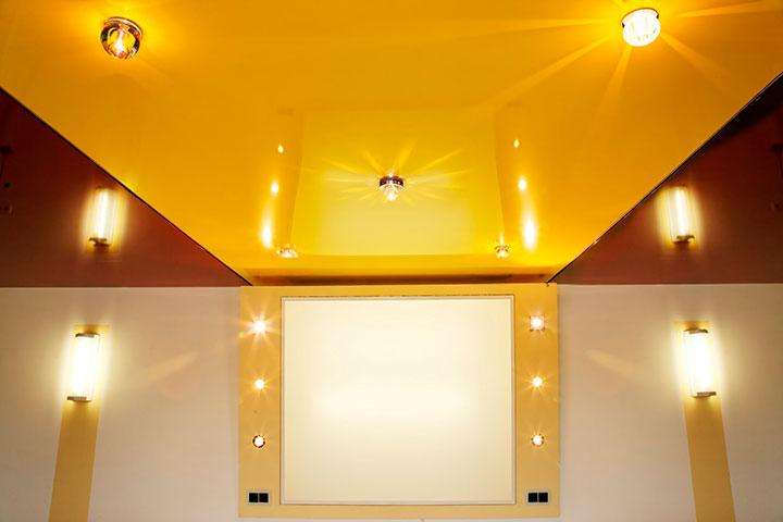 вред натяжного полотна потолка