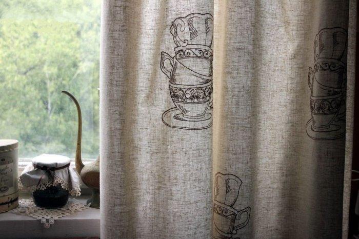 Льняные шторы имеют и ряд серьезных недостатков