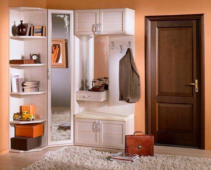 угловая мебель для прихожей