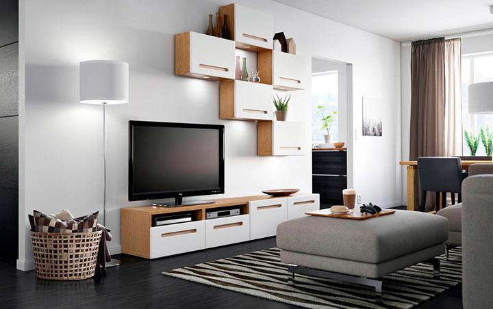мебель для зала из дерева