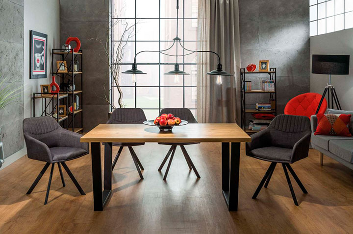 стол для гостиной лофт
