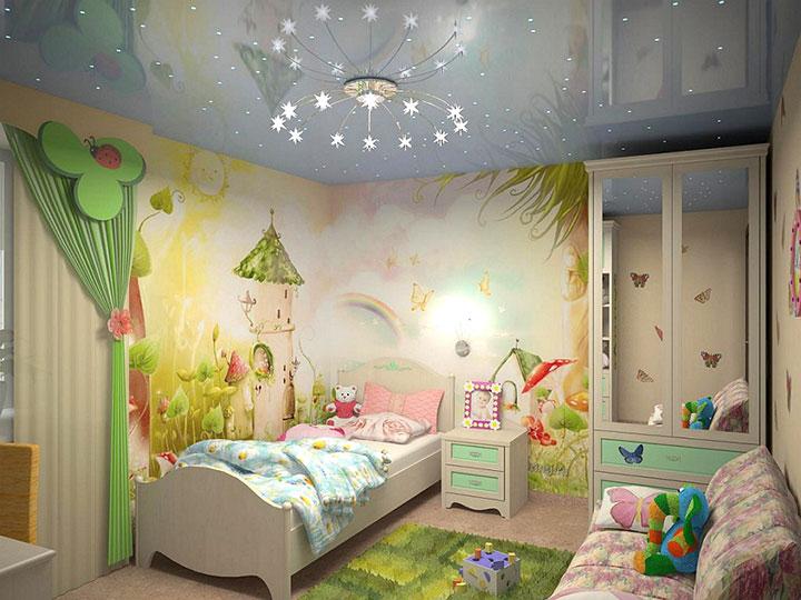 комната для девочки дошкольного возраста