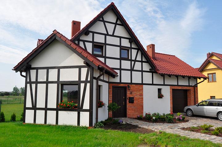 как построить дом фахверк