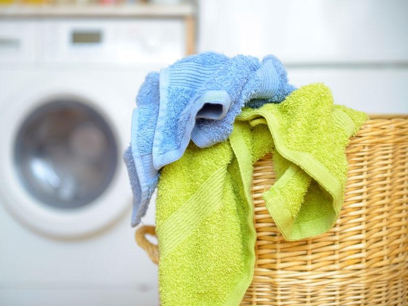 чистка полотенец