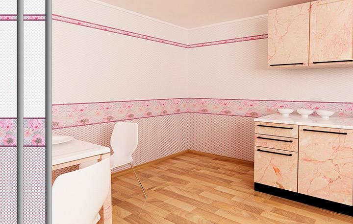 стены из ПВХ на кухне