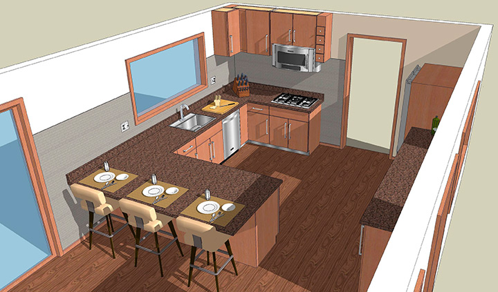 проект кухни своими руками