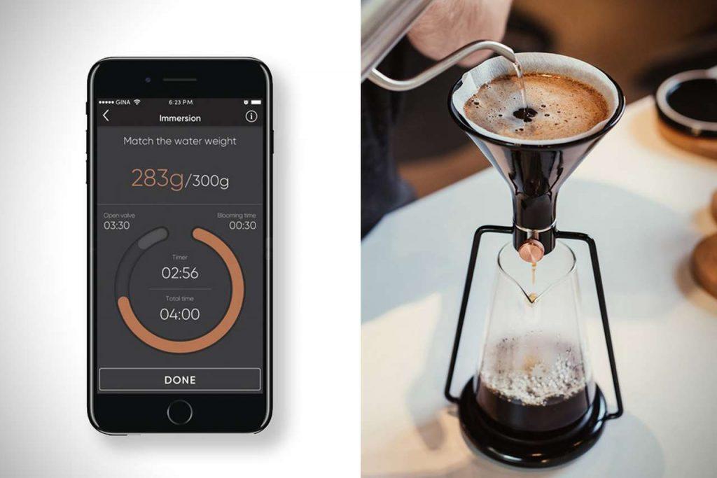 умная кофеварка