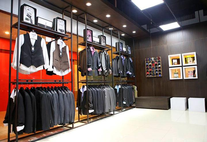 интерьер магазина для мужчин
