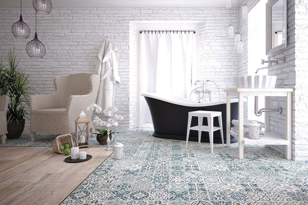 стиль ванной