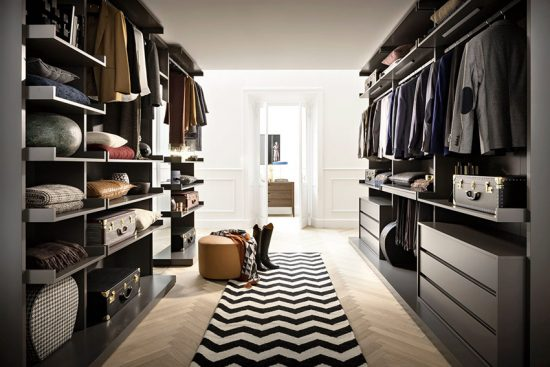 Освещение и вентиляция гардеробной виды способы