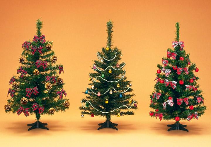 схемы украшения елки