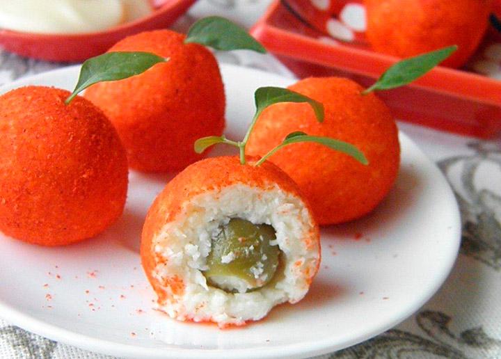 Морковные мандаринки