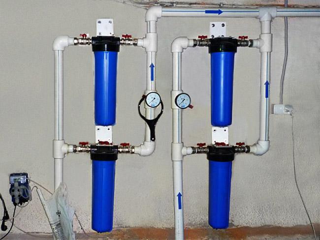 Водяные фильтры своими руками