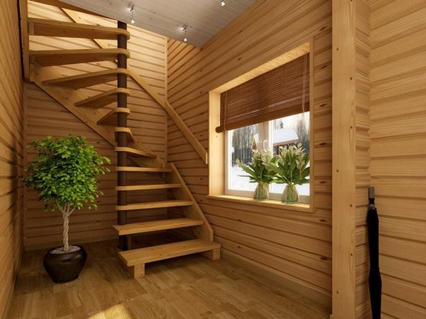 Лестница для дачи на 2 этаж своими руками