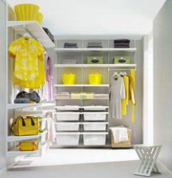 Устройство гардеробной комнаты своими руками