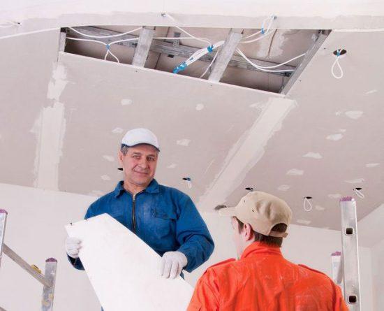Подвесной потолок своими руками пошаговая инструкция