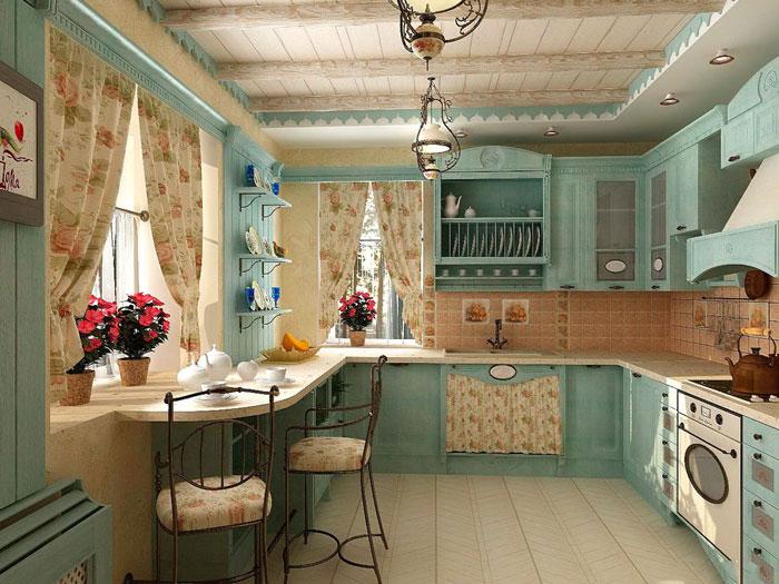 Прованс на кухне своими руками 51